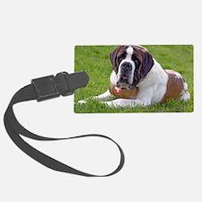 Saint Bernard Dog2 Luggage Tag