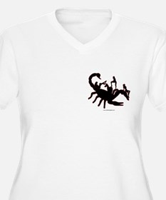 Scorpion w sexy Girls T-Shirt