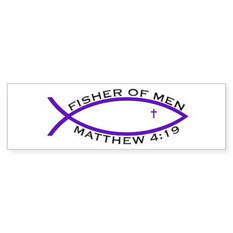 Fisher (PUR) - Bumper Sticker