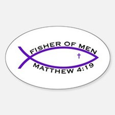 Fisher (PUR) - Oval Decal