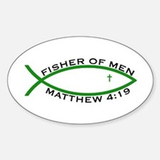 Fisher (GRN) - Oval Decal
