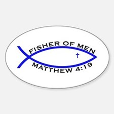 Fisher (BLU) - Oval Decal