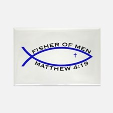 Fisher (BLU) - Rectangle Magnet