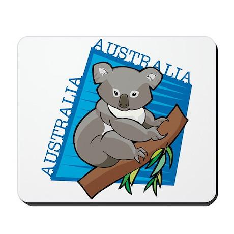 Australia Koala Mousepad