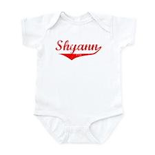 Shyann Vintage (Red) Infant Bodysuit