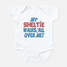 Sheltie Walks Infant Bodysuit