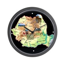 Vintage Romania Wall Clock