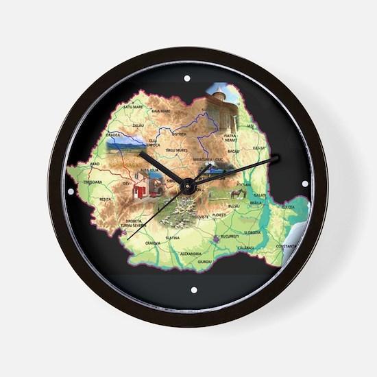 Vintage Romania Wall Clock
