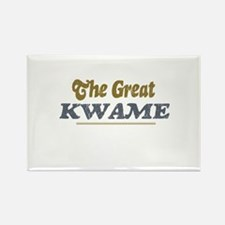 Kwame Rectangle Magnet