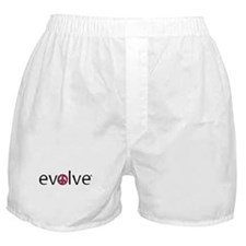 Evolve to Peace - Pink Boxer Shorts
