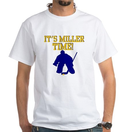 Miller Time White T-Shirt