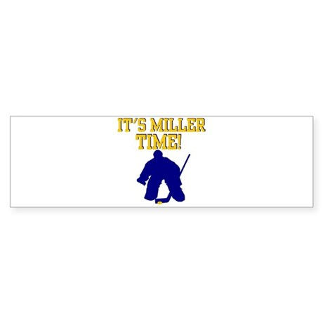 Miller Time Bumper Sticker