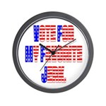 Vote for my favorite jerk Wall Clock