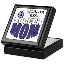 World's Best Soccer Mom Keepsake Box