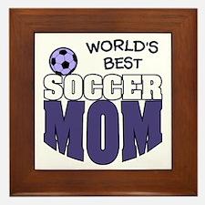 World's Best Soccer Mom Framed Tile