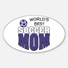 World's Best Soccer Mom Decal