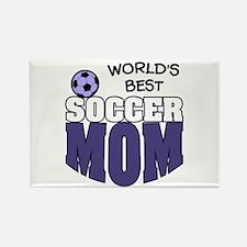 World's Best Soccer Mom Rectangle Magnet