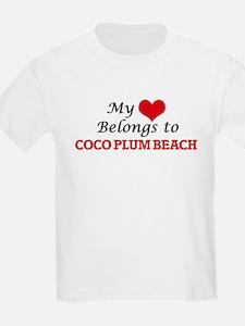 My Heart Belongs to Coco Plum Beach Florid T-Shirt