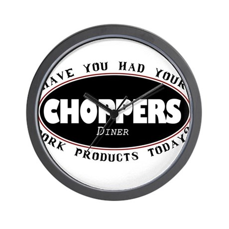 Choppers Diner Vancouver Wall Clock