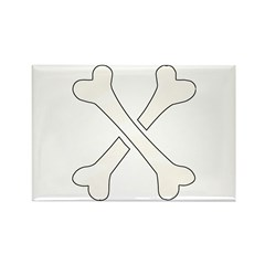 X Rectangle Magnet (100 pack)