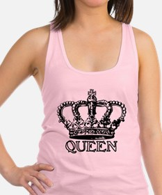 Funny Crown Racerback Tank Top