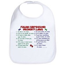 Italian Greyhound Property Laws 2 Bib