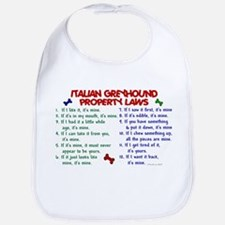 Italian Greyhound Property Laws 2 Bib