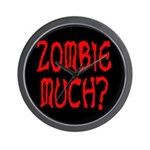 Zombie Much? Wall Clock