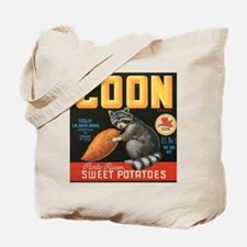 Coon Sweet Potatoes Tote Bag