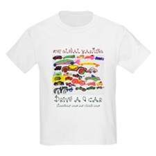 Q Cars Global Warming Kid's T