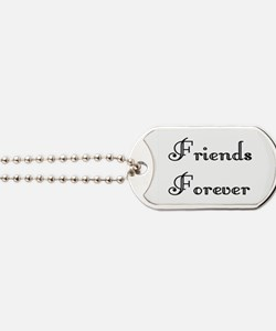 Cute Forever love Dog Tags