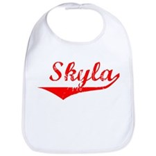 Skyla Vintage (Red) Bib