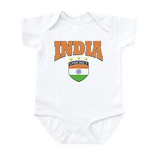 Indian cricket design Infant Bodysuit