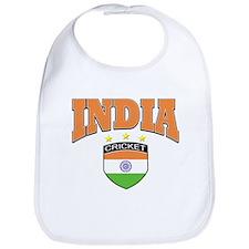 Indian cricket design Bib