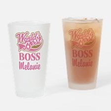 Boss Personalized Gift Drinking Glass