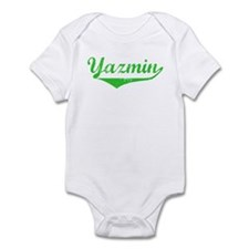 Yazmin Vintage (Green) Infant Bodysuit