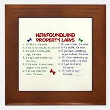Newfoundland Property Laws 2 Framed Tile
