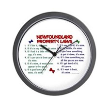 Newfoundland Property Laws 2 Wall Clock