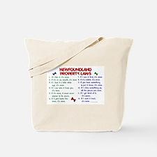 Newfoundland Property Laws 2 Tote Bag