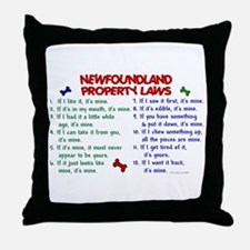 Newfoundland Property Laws 2 Throw Pillow