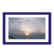 Kotzebue Seasons Greetings 3 Postcards (Package of