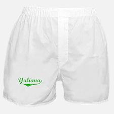 Yuliana Vintage (Green) Boxer Shorts