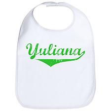 Yuliana Vintage (Green) Bib