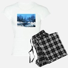 Central Park New York Winte Pajamas