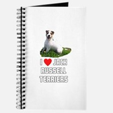 I Love Jack Russell Terriers Journal