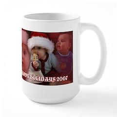 Happy Holidays Large Mug