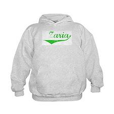 Zaria Vintage (Green) Hoodie