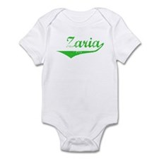 Zaria Vintage (Green) Infant Bodysuit