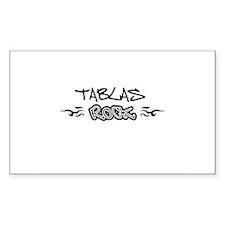 Tablas Rectangle Stickers