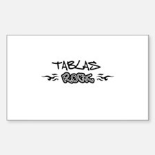 Tablas Rectangle Stickers